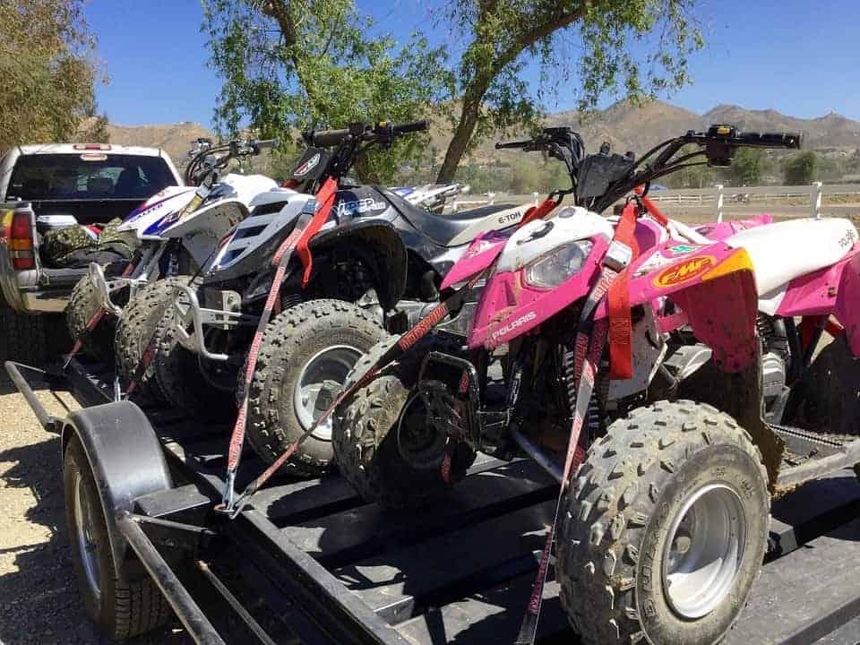ATV Tied Down