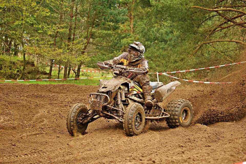 quad in dirt