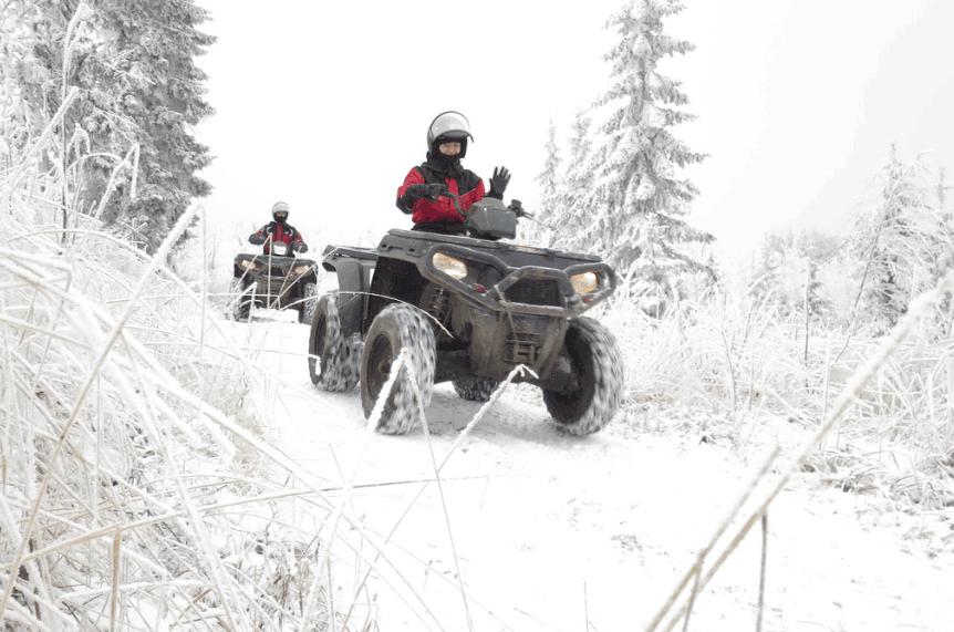 ATV Winter Riding